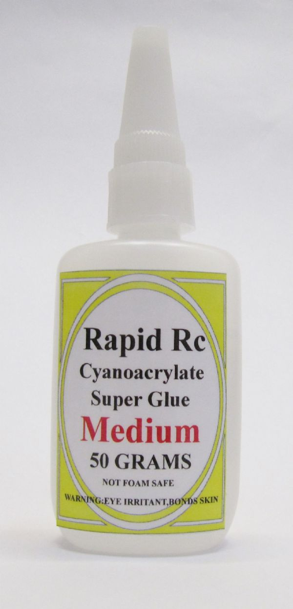 Rapid Rc Super Glue CA (50g / 1.7oz) Medium